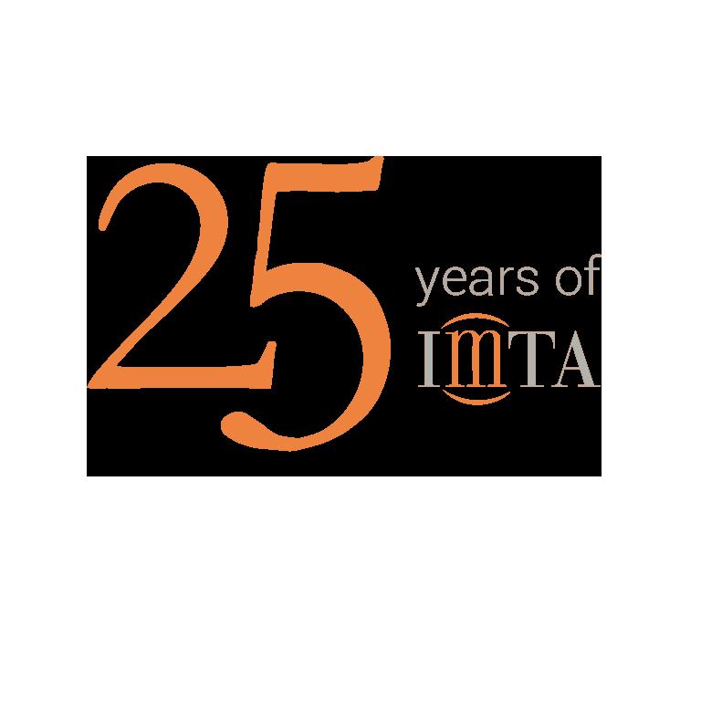 Logo 25 Jahre IMTA